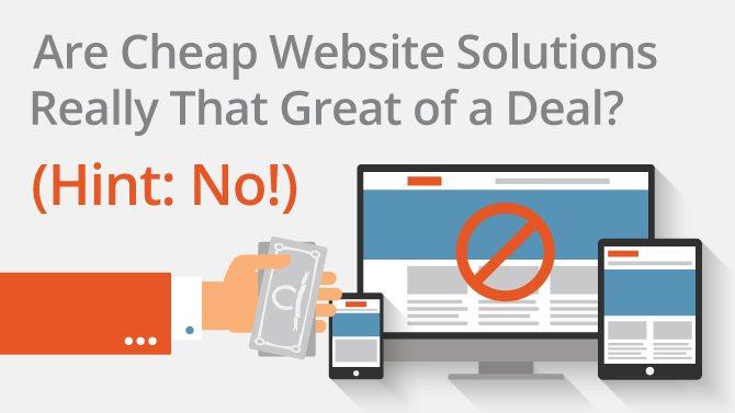 cheap website solutions