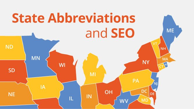 State Abbreviations and SEO
