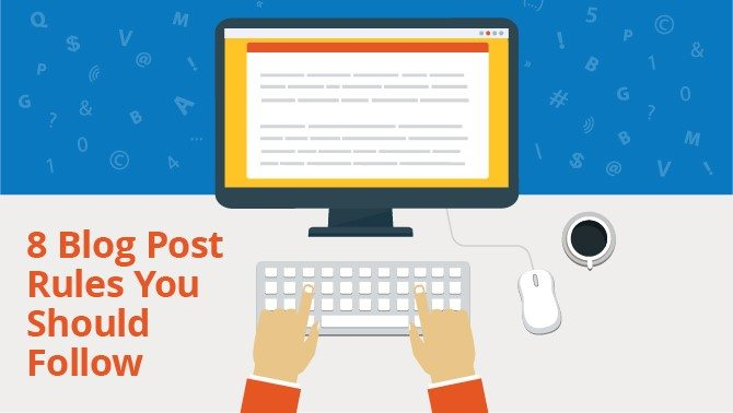 blog post rules for content marketing