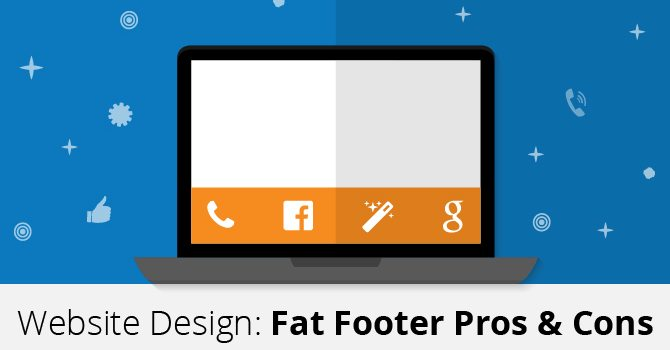 fat footer, website design and SEO