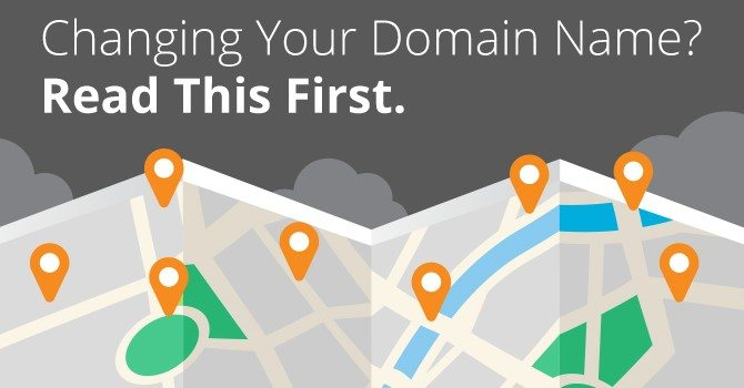 chaning domain name effects SEO