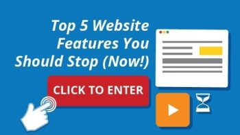 avoid these website features