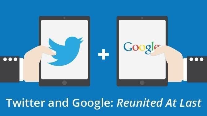 Twitter Google Partnership