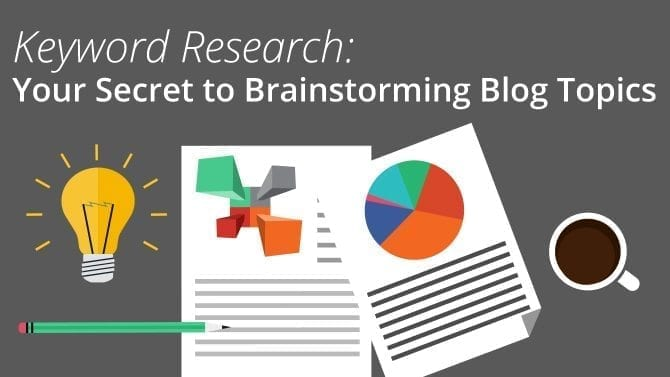 keyword research blog ideas
