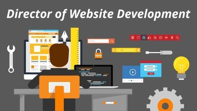director of website development