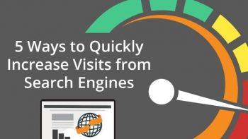 fastest way to increase visits from search engines