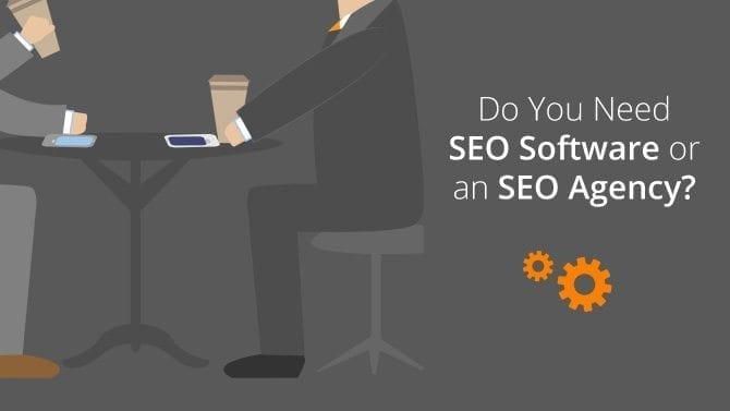seo agency vs. seo software