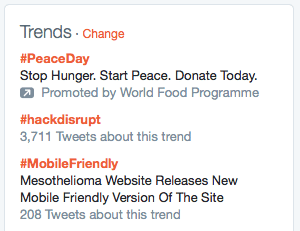 hashtag trends