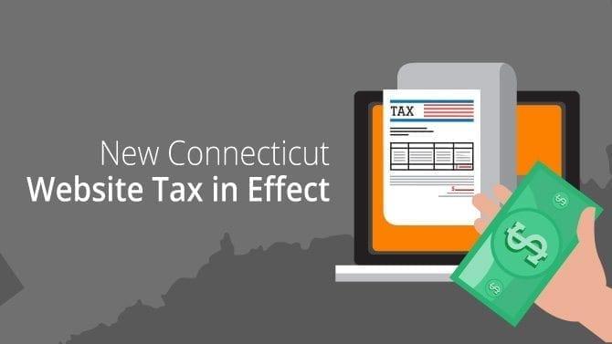 Connecticut website tax
