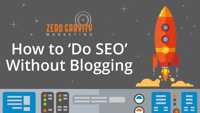 do seo without blogging
