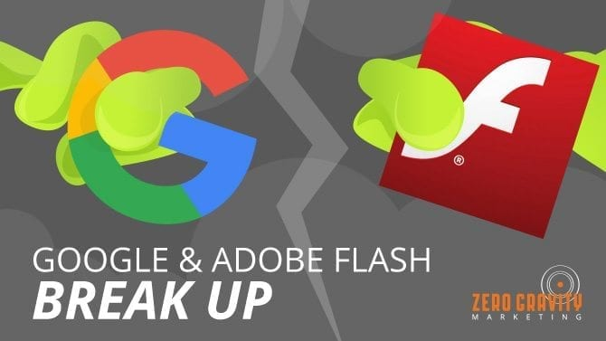 Google and Adobe FlashBreak Up