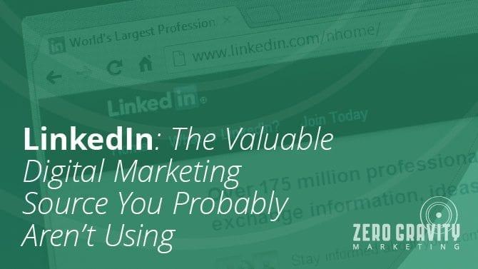 Linkedin: The Valuable Digital Marketing Source