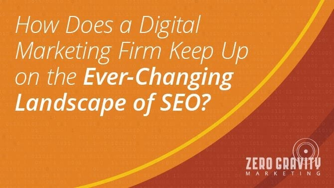 Ever-Changing Landscape of SEO