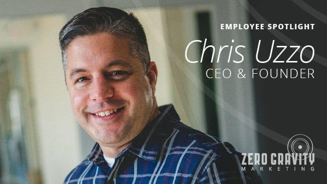 Employee Spotlight - Chris Uzzo, CEO & Founder