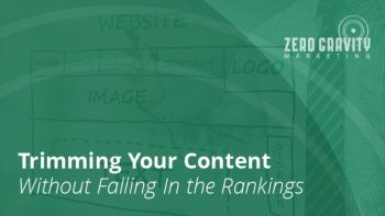 Trimming Your Content Without Falling In Rankings
