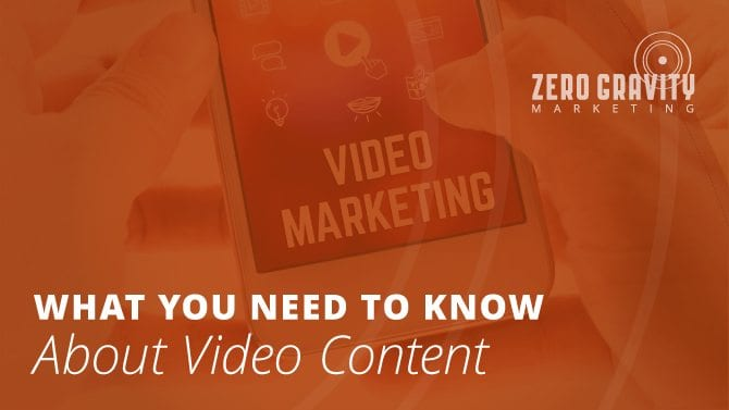 Incorporate Video Content!