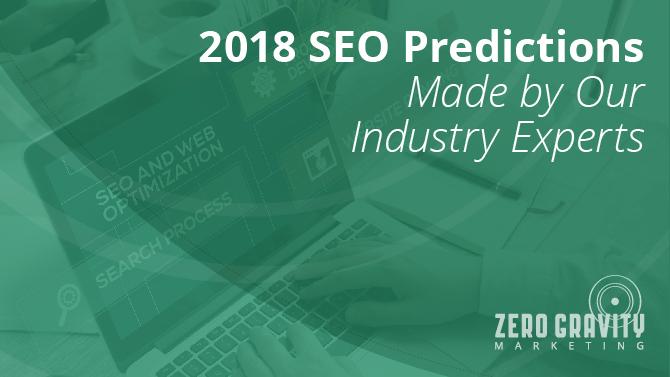 2018 seo predictions