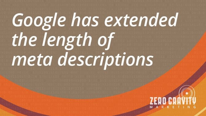 Google Increases Length of Meta Description to Benefit SEO