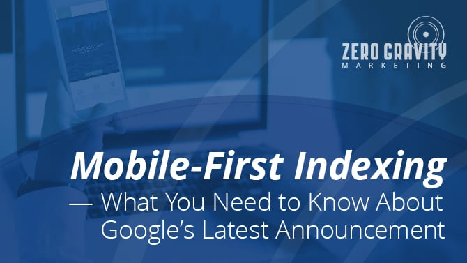 What is Mobile-First Indexing for SEO?