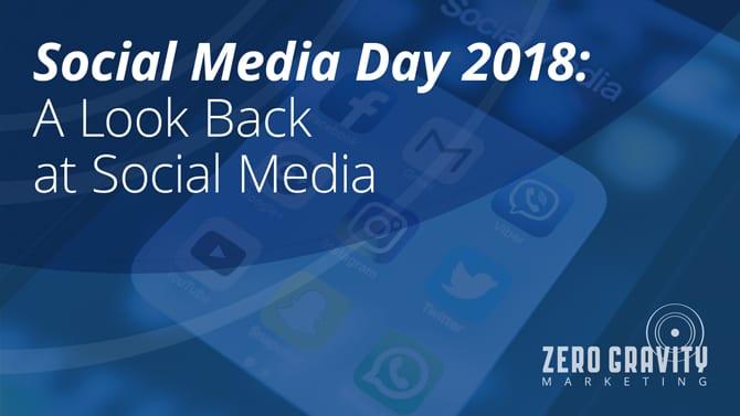Social Media Day 2018: A Look Back at Social Media