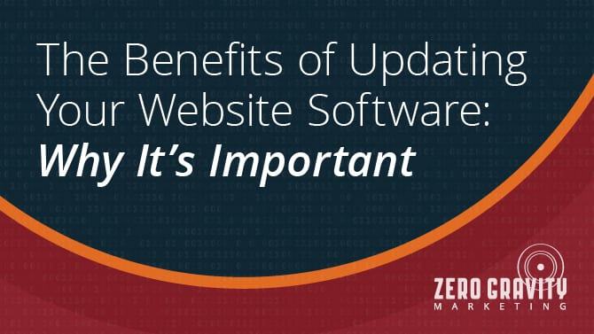 The Benefits of Updating Your Website Software: Why It's Important