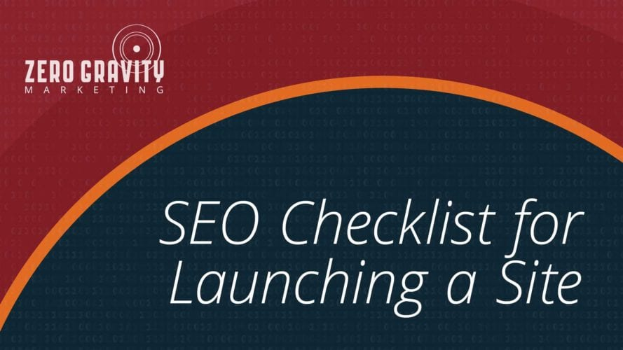 SEO Checklist for Launching a Site