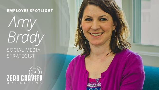 Amy Brady, Social Media Strategist