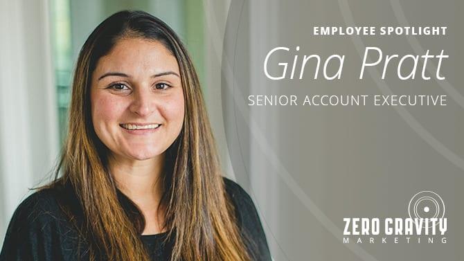 Gina Pratt, Senior Account Executive