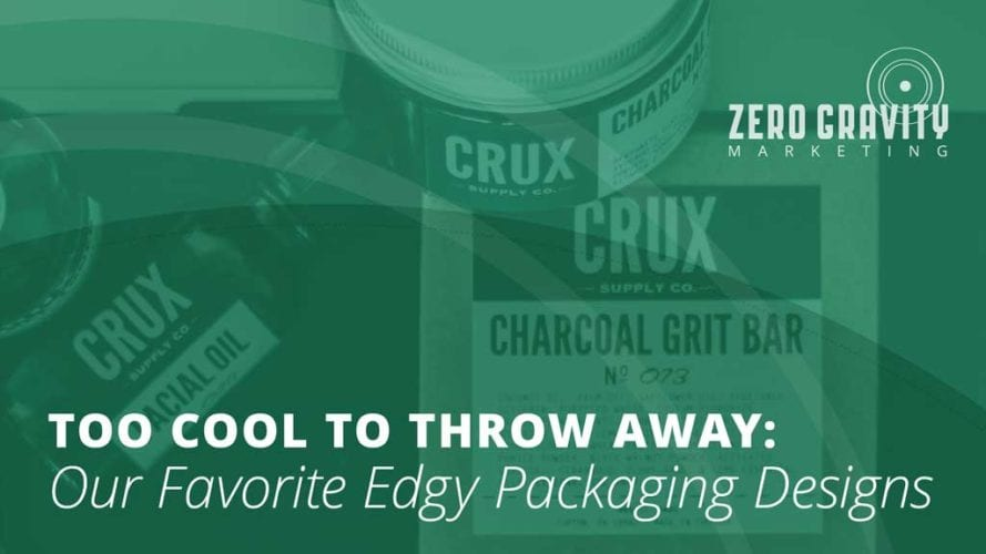 Too Cool to Throw Away: Our Favorite Edgy Packaging Designs