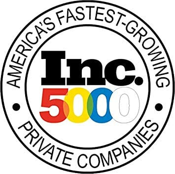 Inc 5000 Fastest Growing Company 2019