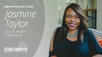 Jasmine Taylor, Social Media Strategist