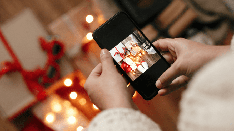 Light Up Your Social Media Content This Holiday Season