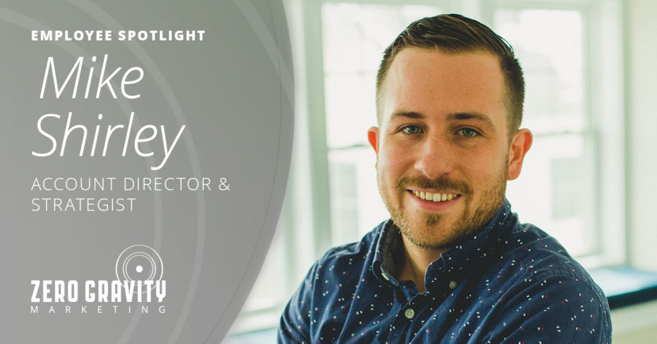 Mike Shirley, Account Director & Strategist
