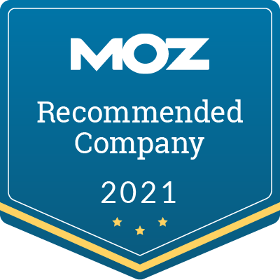 Moz Recommended Badge