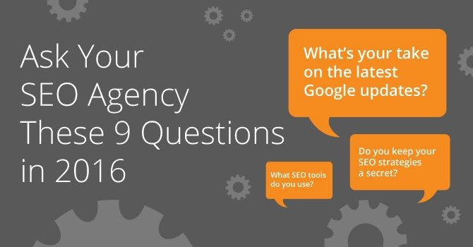 what should i ask my seo agency ?