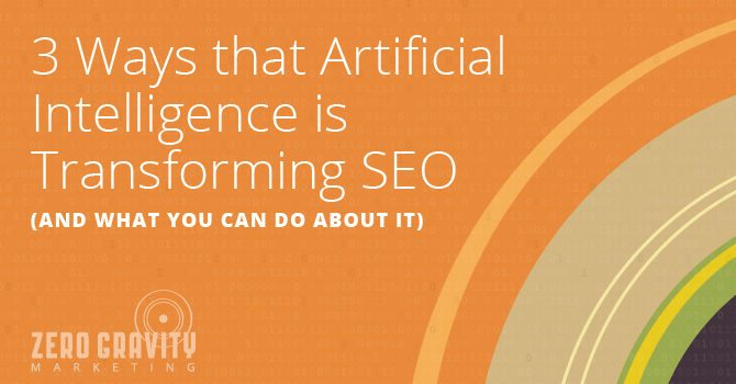 Artificial Intelligence is Transforming SEO