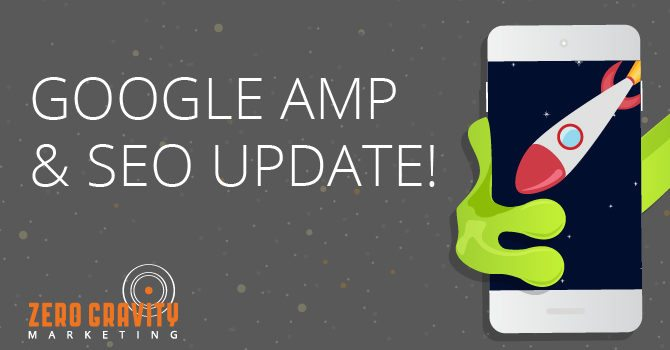 google amp and seo update