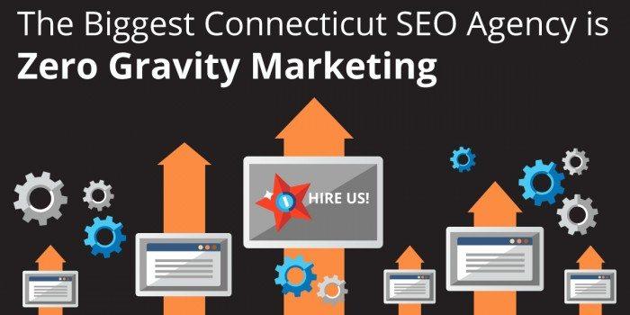 biggest connecticut seo agency is zero gravity marketing
