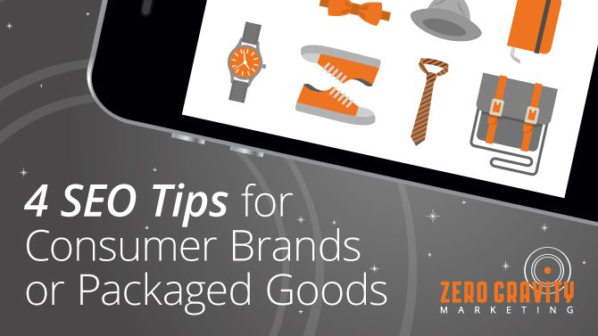 seo for packaged goods