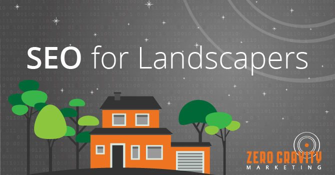 seo for landscapers