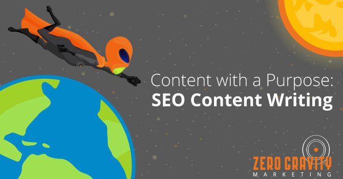 Content with a Purpose: SEO Content Writing