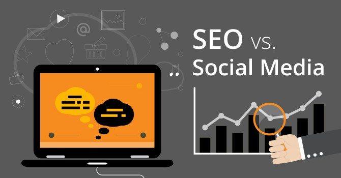 seo vs social media