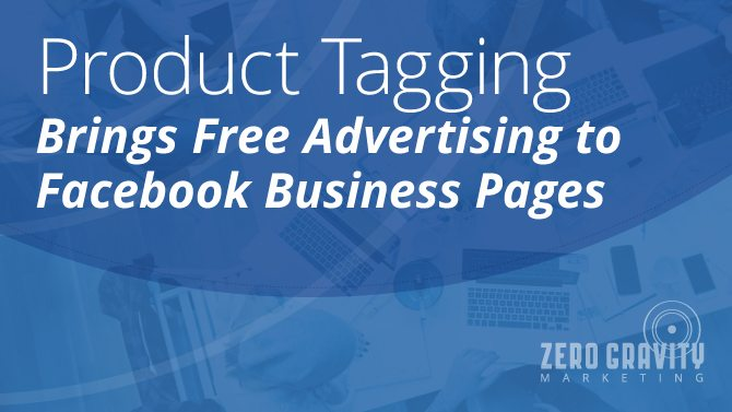 Facebook product tagging