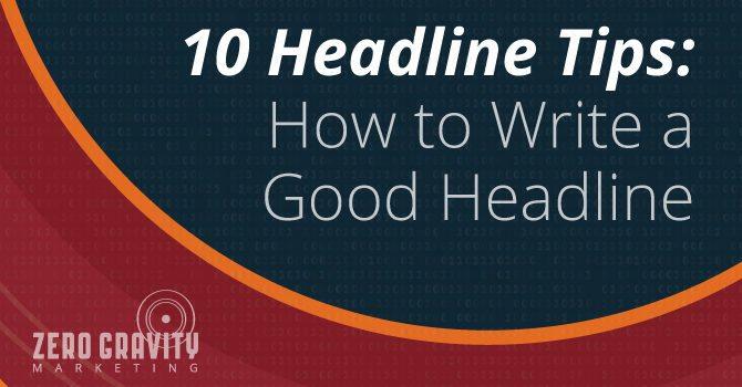 headline tips