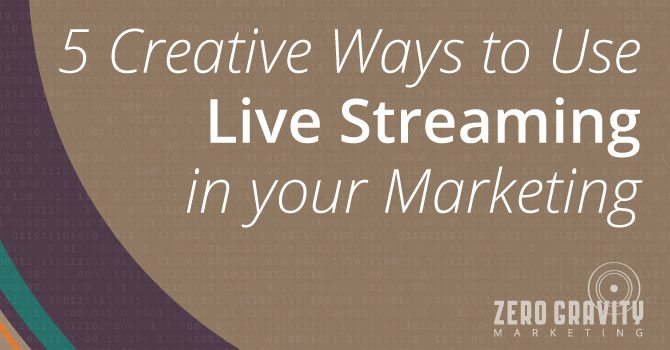 live streaming marketing