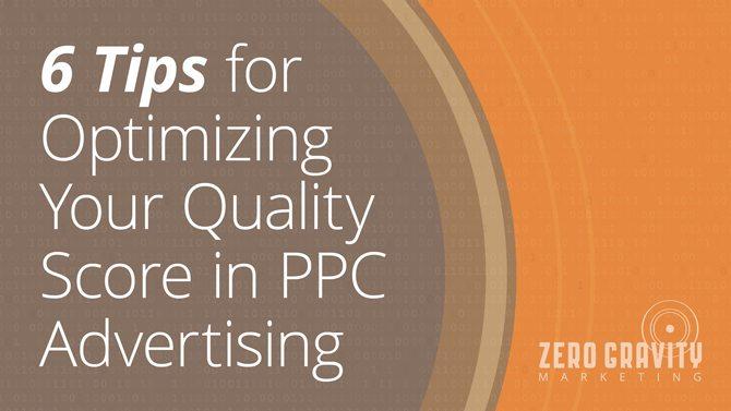 improve ppc quality score